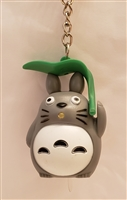 My Neighbor Totoro Key Ring Flash Light (Green Leaf)