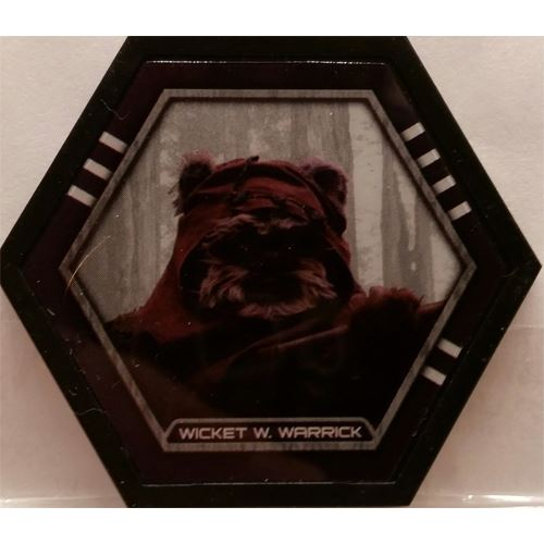 Star Wars Galactic Connexions - Wicket W. Warrick - Black/Standard - Uncommon