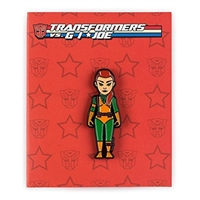 Kidrobot Transformers vs G.I. Joe Enamel Pin Series - Scarlett (1/20)
