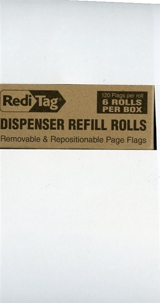 "Redi-Tag Arrow ""Sign Here"" REFILLS - Red"