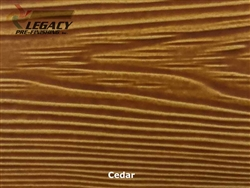 Allura, Pre-Finished Fiber Cement Cedar Lap Siding - Cedar