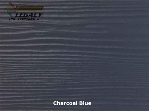 Allura, Pre-Finished Fiber Cement Lap Siding - Charcoal Blue