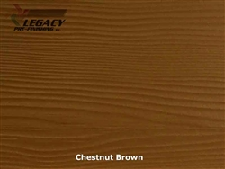 Allura, Pre-Finished Fiber Cement Lap Siding - Chestnut Brown