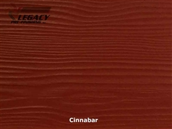 Allura, Pre-Finished Fiber Cement Lap Siding - Cinnabar