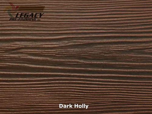 Allura, Pre-Finished Fiber Cement Cedar Lap Siding - Dark Holly