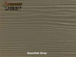 Allura, Pre-Finished Fiber Cement Lap Siding - Gauntlet Gray