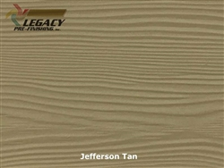 Allura, Pre-Finished Fiber Cement Lap Siding - Jefferson Tan