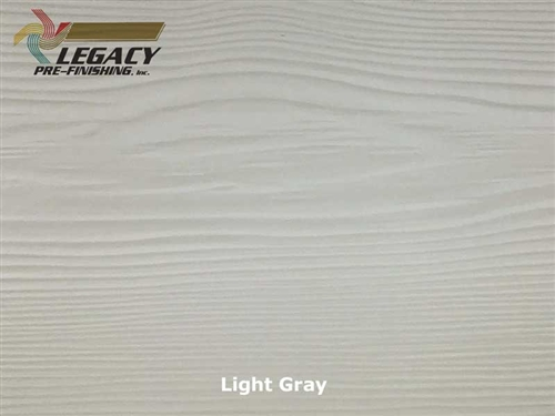 Allura, Pre-Finished Fiber Cement Lap Siding - Light Gray