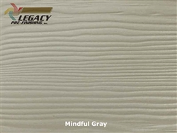 Allura, Pre-Finished Fiber Cement Lap Siding - Mindful Gray