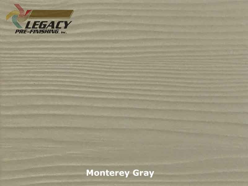 Prefinished Allura Fiber Cement Lap Siding Monterey Gray
