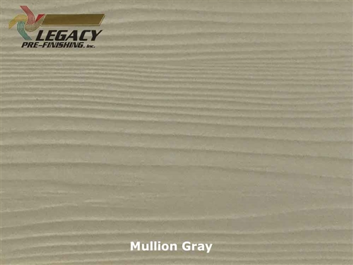 Prefinished Allura Fiber Cement Lap Siding - Mullion Gray
