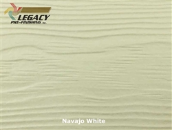 Allura, Pre-Finished Fiber Cement Lap Siding - Navajo White