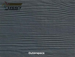 Allura, Pre-Finished Fiber Cement Lap Siding - Outerspace