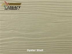 Allura, Pre-Finished Fiber Cement Lap Siding - Oyster Shell