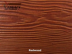 Allura, Pre-Finished Fiber Cement Cedar Lap Siding - Redwood