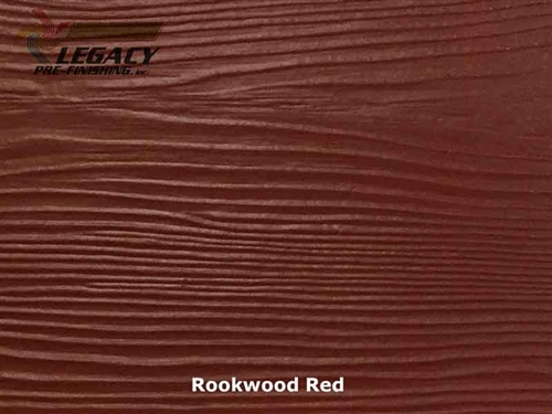 Allura, Pre-Finished Fiber Cement Lap Siding - Rookwood Red
