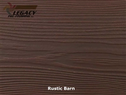 Allura, Pre-Finished Fiber Cement Cedar Lap Siding - Rustic Barn Stain