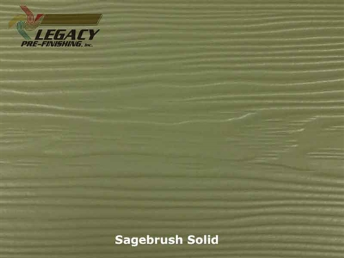 Allura, Pre-Finished Fiber Cement Lap Siding - Sagebrush Solid