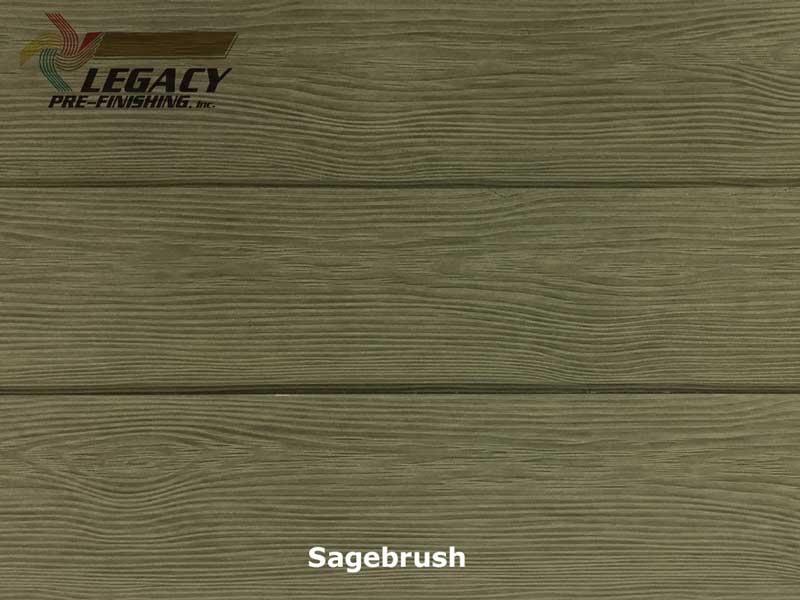 Allura Pre Finished Fiber Cement Cedar Lap Siding Sagebrush Stain