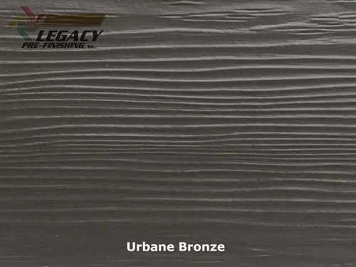 Allura, Pre-Finished Fiber Cement Lap Siding - Urbane Bronze