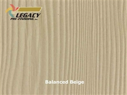 Allura Prefinished Vertical Panel Siding - Balanced Beige