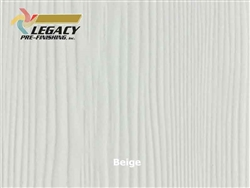 Allura Prefinished Vertical Panel Siding - Beige