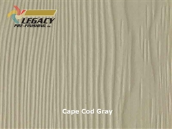 Allura Prefinished Vertical Panel Siding - Cape Cod Gray