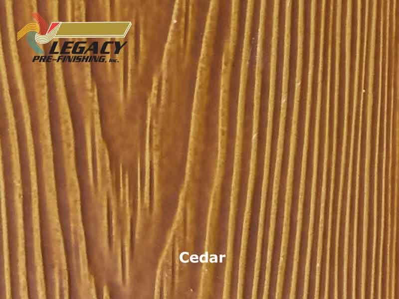 Allura Prefinished Vertical Panel Siding Cedar