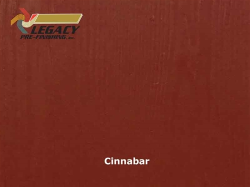 Allura Prefinished Vertical Panel Siding - Cinnabar