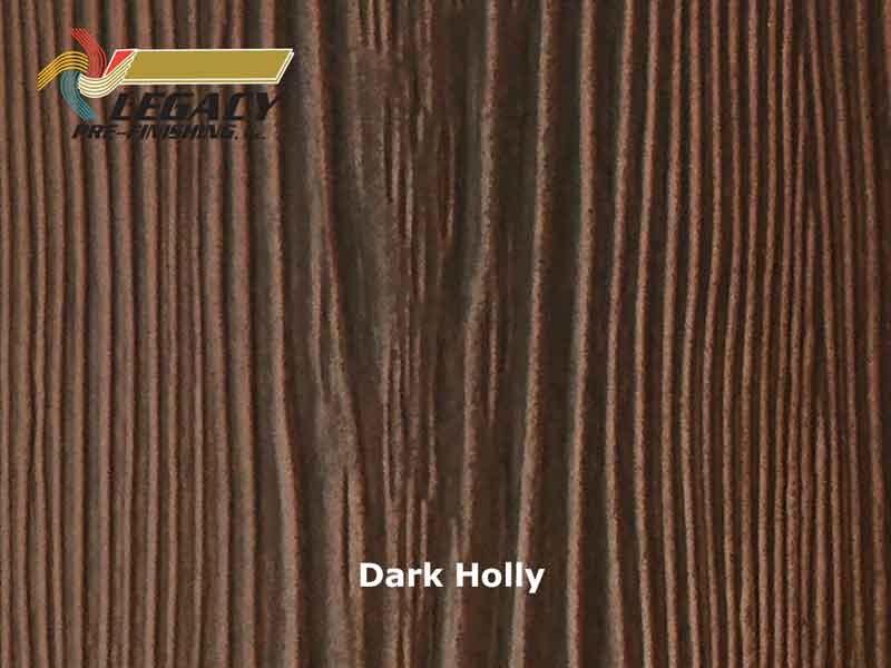 Allura Prefinished Vertical Panel Siding Dark Holly