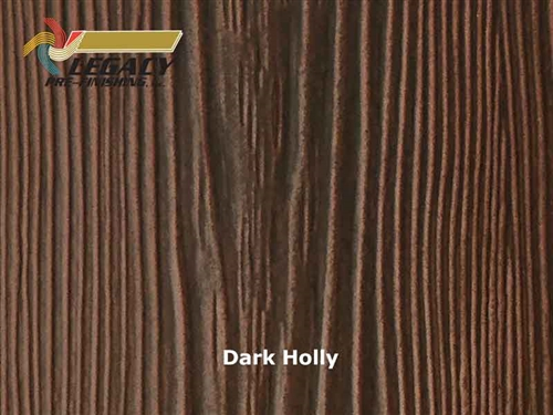 Allura Prefinished Vertical Panel Siding - Dark Holly