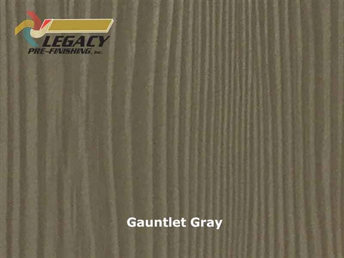 Allura Prefinished Vertical Panel Siding - Gauntlet Gray