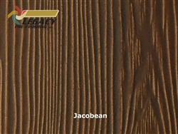 Allura Prefinished Vertical Panel Siding - Jacobean