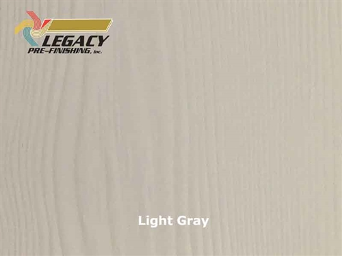 Allura Prefinished Vertical Panel Siding - Light Gray