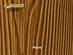 Allura Prefinished Vertical Panel Siding - Maple