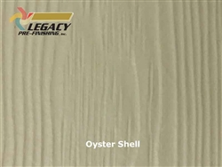 Allura Prefinished Vertical Panel Siding - Oyster Shell