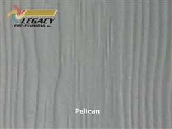 Allura Prefinished Vertical Panel Siding - Pelican