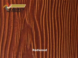 Allura Prefinished Vertical Panel Siding - Redwood