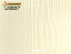 Allura Prefinished Vertical Panel Siding - Sandstone