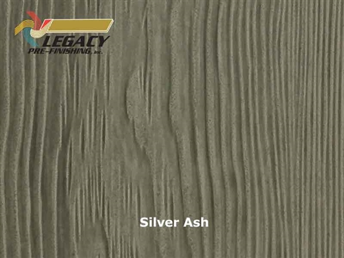 Allura Prefinished Vertical Panel Siding - Silver Ash