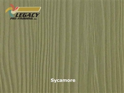 Allura Prefinished Vertical Panel Siding - Sycamore