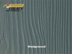 Allura Prefinished Vertical Panel Siding - Wedgewood