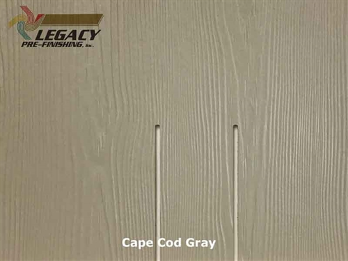 Allura Fiber Cement Cedar Shake Siding Panels - Cape Cod Gray