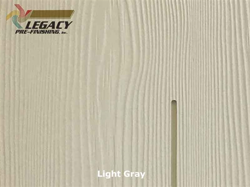 Allura Fiber Cement Cedar Shake Siding Panels - Light Gray