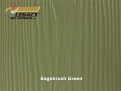 Allura, Pre-Finished Fiber Cement Soffit - Sagebrush Green