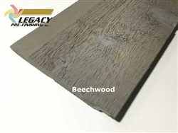 Prefinished Cedar Channel Rustic Siding - Beechwood Gray