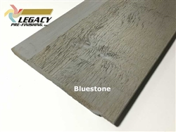 Prefinished Cedar Channel Rustic Siding - Bluestone