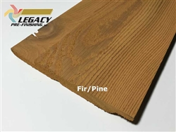 Prefinished Cedar Channel Rustic Siding - Fir/Pine Stain