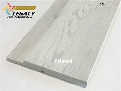 Prefinished Cedar Channel Rustic Siding - Primed