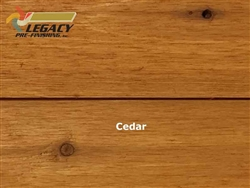 Prefinished Cedar Shiplap Siding - Cedar Natural Stain
